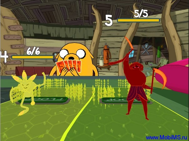 Игра Card Wars - Adventure Time для Android