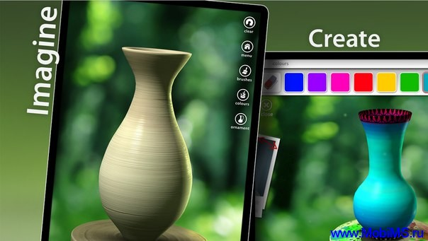 Игра Let's Create! Pottery + МОД много денег для Android