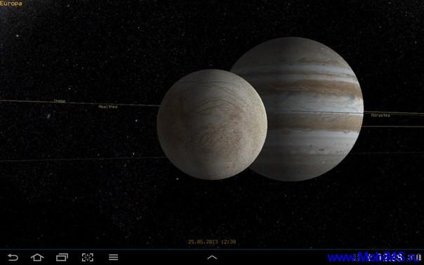 Приложение Pocket Planets для Android
