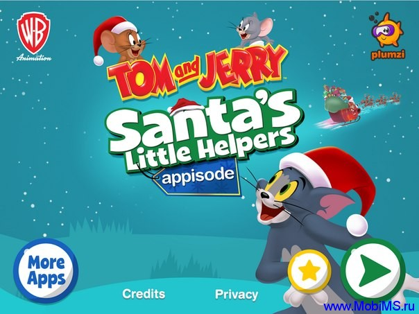 Игра Tom & Jerry Christmas Appisode  для Android