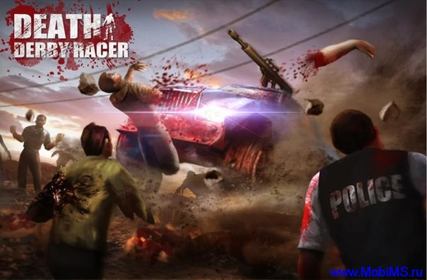 Игра Death Derby Racer Zombie гонки для Android