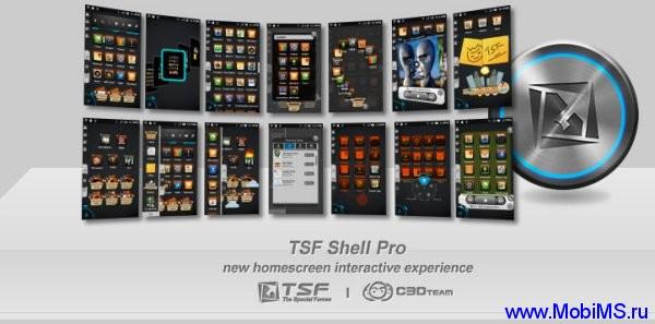 Приложение TSF Shell Pro для Android