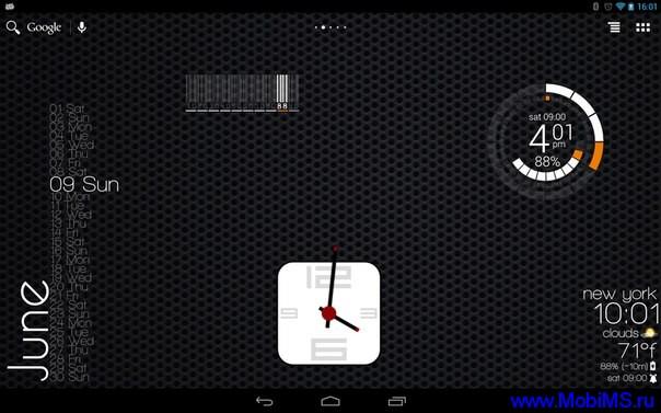 Приложение Zooper Widget Pro для Android