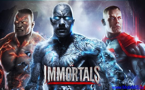 Игра WWE Immortals + Мод на валюту и энергию для Android