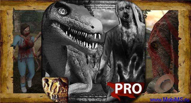 Игра Zombie Fortress : Dino Pro  для Android