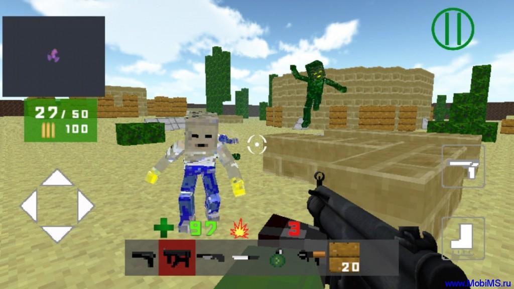 Игра Death Blocks 3 +МОД много денег для Android