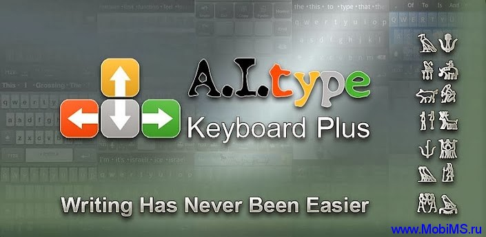 Приложение Клавиатура ai.type ПЛЮС для Android
