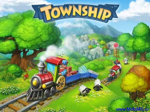 Игра Township - Город и Ферма + МОД много денег для Android