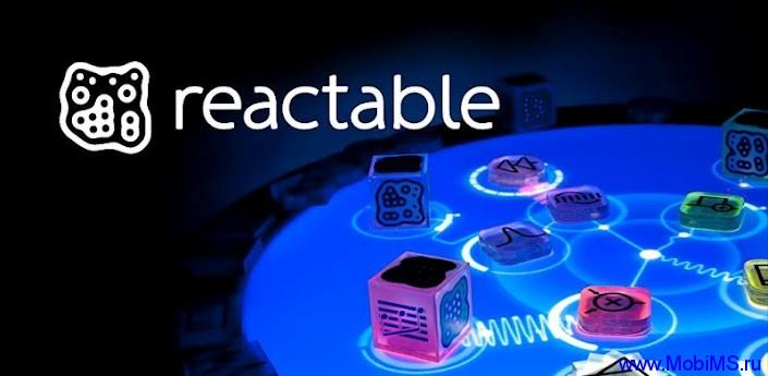 Приложение Reactable mobile для Android