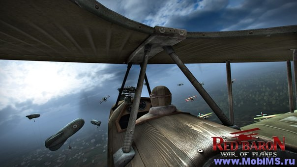 Игра Red Baron: War of Planes + Мод для Android