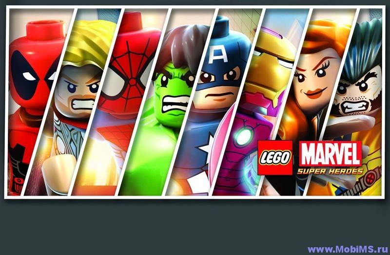 Игра LEGO Marvel Super Heroes для Android