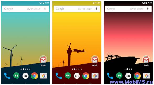 Живые обои Silhouette World для Android