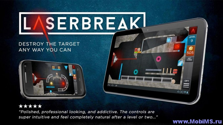 Игра Laserbreak Pro для Android