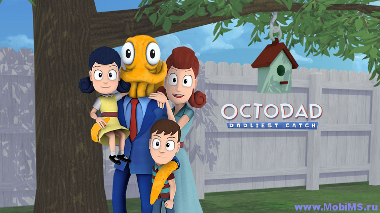 Игра Octodad: Dadliest Catch для Android