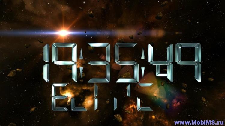 Приложение Space Clock 3D Pro LWP для Android