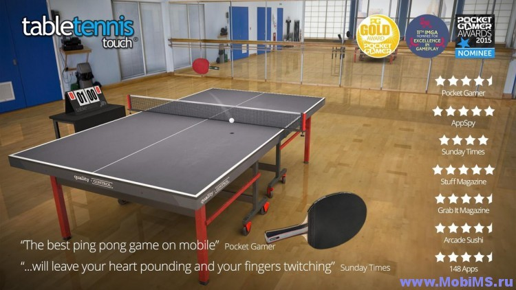 Игра Table Tennis Touch для Android