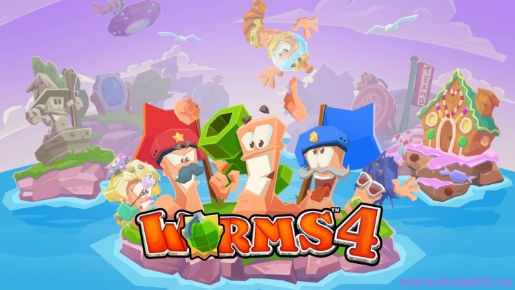 Игра Worms 4 для Android