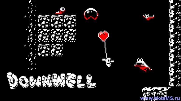 Игра Downwell для Android