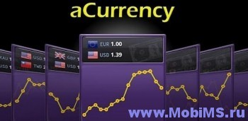 Приложение aCurrency Pro (exchange rate) для Android