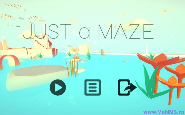 Игра JUST a MAZE для Android