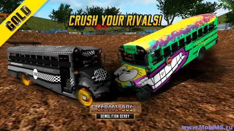Игра Bus Demolition Derby GOLD+ для Android