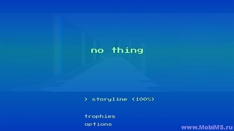 Игра NO THING - Surreal Arcade Trip для Android