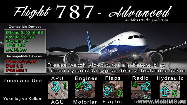 Игра Flight 787 - Advanced для Android