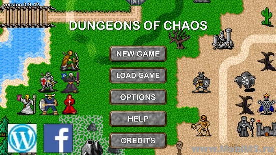 Игра Dungeons of Chaos - Мод на валюту для Android