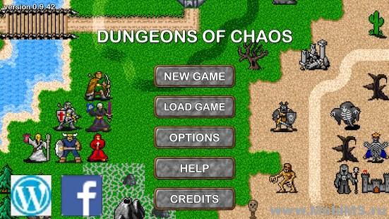 Игра Dungeons of Chaos - Мод на валюту для Android