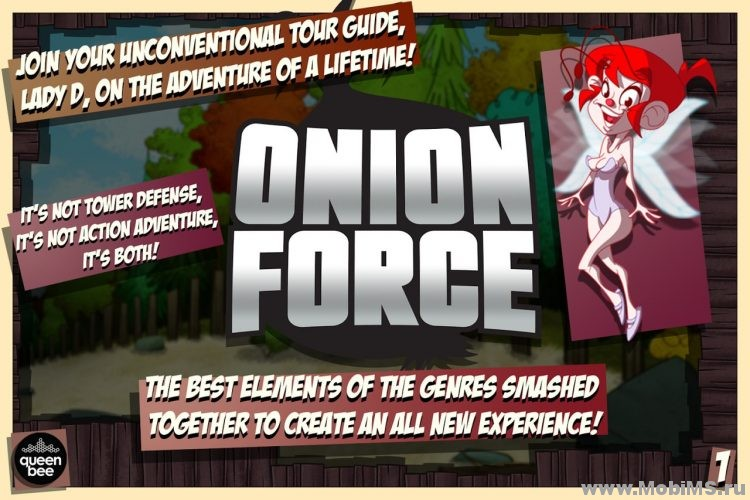 Игра Onion Force для Android