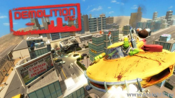 Игра Demolition Inc. для Android
