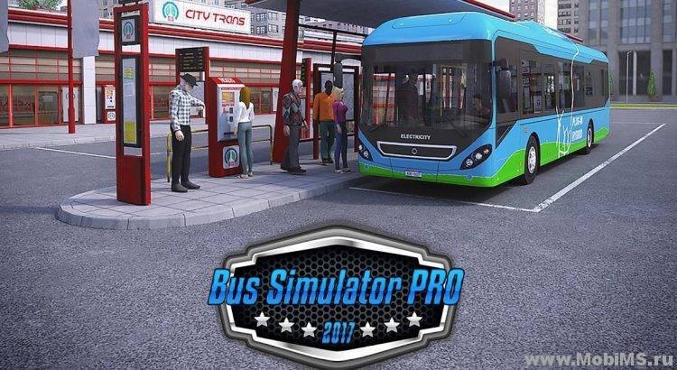 Игра Bus Simulator PRO 2017 для Android