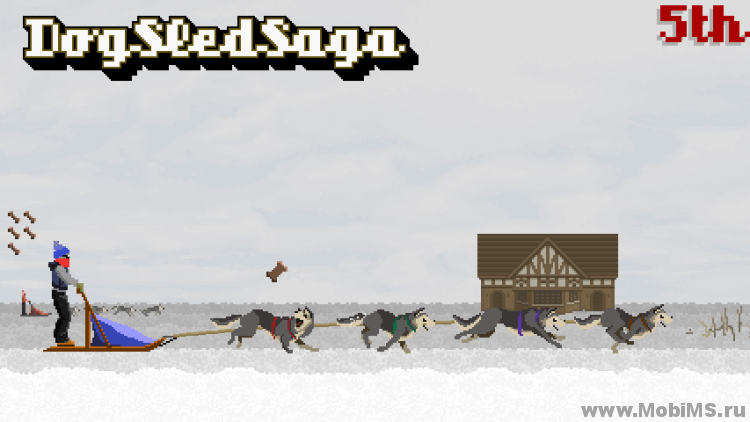 Игра Dog Sled Saga для Android