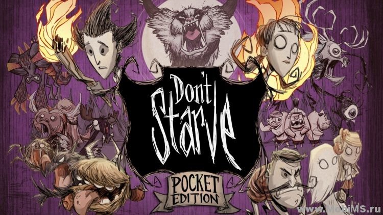 Игра Don't Starve: Pocket Edition — Полноценный релиз для Android