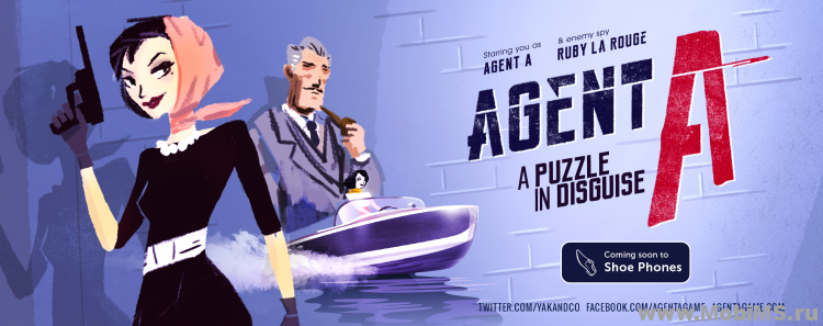 Игра Agent A: A puzzle in disguise для Android