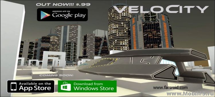 Игра VeloCity - Endless Racing для Android