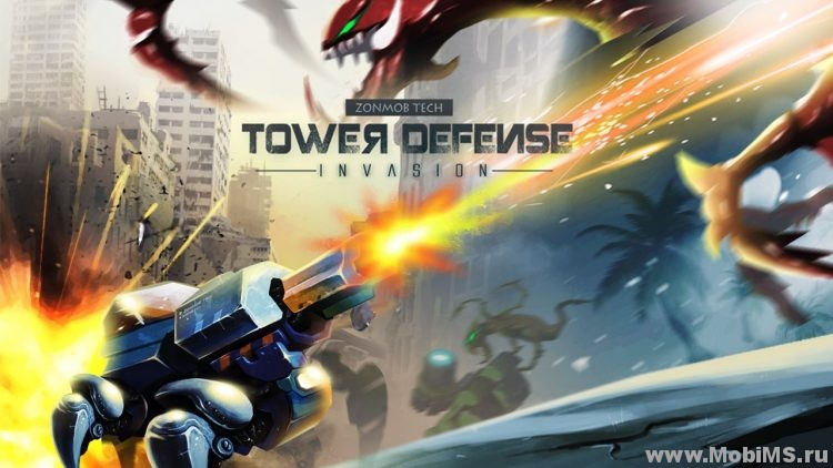 Игра Tower Defense: Invasion - Мод на валюту для Android