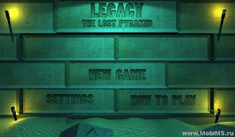Игра Legacy - The Lost Pyramid для Android