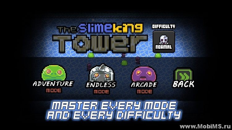 Игра The Slimeking's Tower для Android