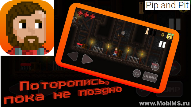 Игра Pip and Pit для Android