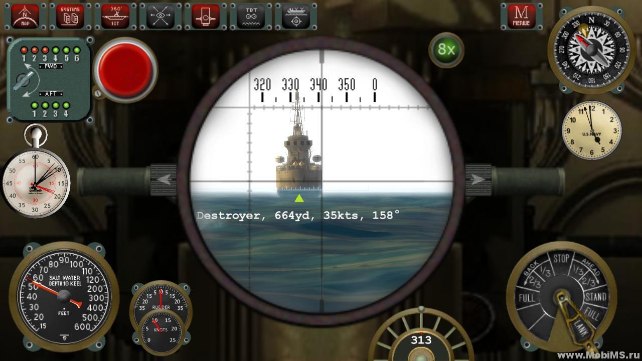 бесплатно без регистрации играть в симулятор подводной лодки