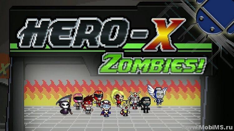 Игра HERO-X: ZOMBIES! - Мод на валюту для Android