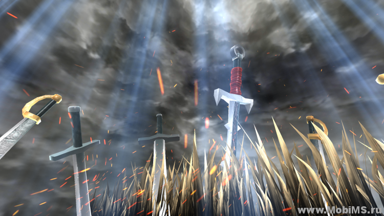 Живые обои Swords Grass Live Wallpaper для Android