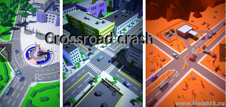 Игра Crossroad crash для Android