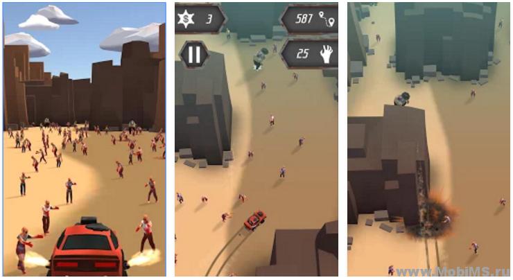 Игра Evil Car: Zombie Apocalypse для Android