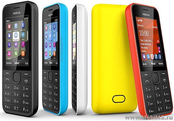 Прошивка версии 10.24 для Nokia 207