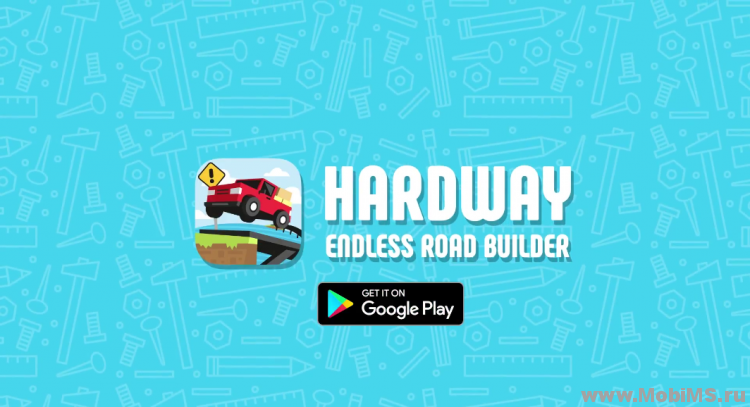 Игра Hardway - Endless Road Builder для Android