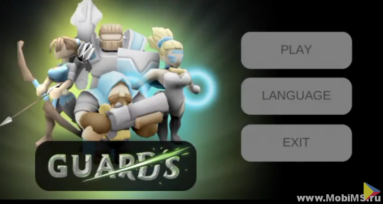 Игра Guards 3D для Android