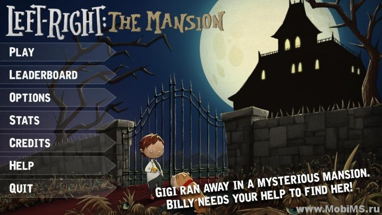Игра Left-Right : The Mansion для Android