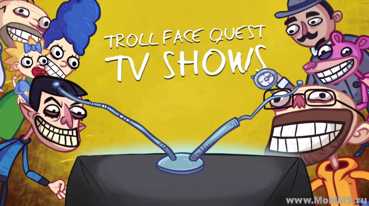 Игра Troll Face Quest TV Shows для Android